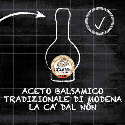 Finally the  Traditional Balsamic Vinegar of Modena PDO