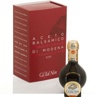 Traditional Balsamic Vinegar of Modena extra aged PDO