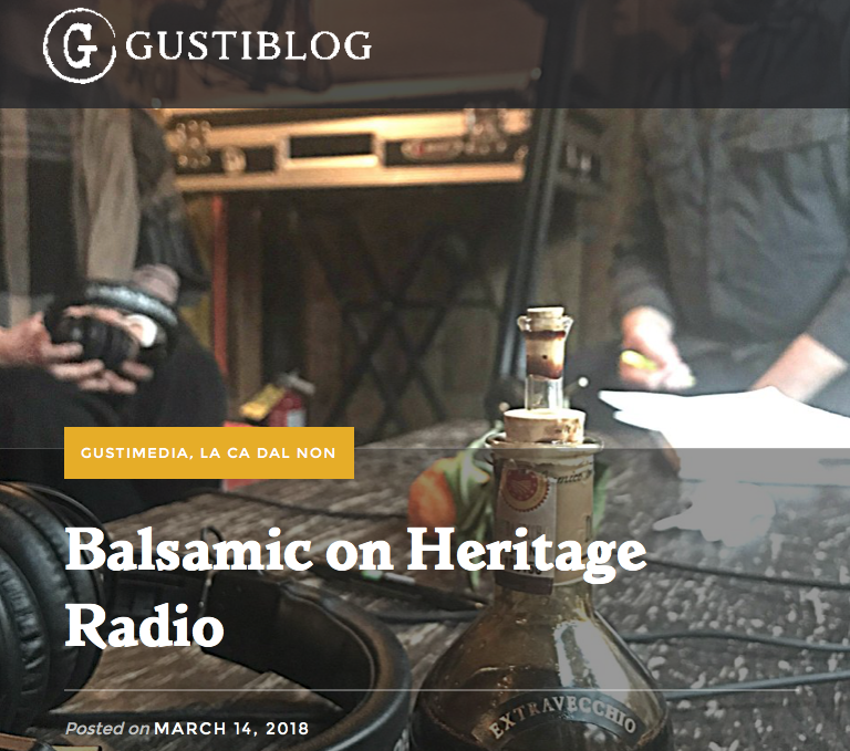 Balsamic on Heritage Radio